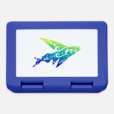 Acquario Idea regalo per tatuaggio tribale Maori Flying Fish - Lunch box