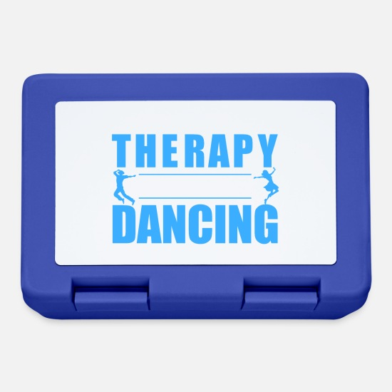Love Lunchboxes - I do not need therapy I just need to go dancing - Lunchbox royal blue