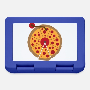 Christmas Pizza Vinyl Music Lover Vintage Funny Gift - Lunchbox