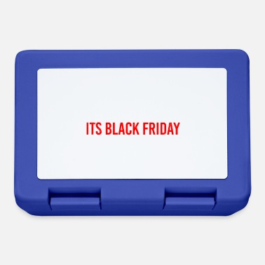 Black Outta My Way Its Black Friday Funny gift idea - Lunchbox
