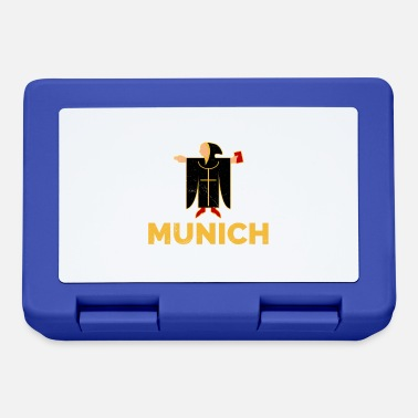 Tradition Munich Kindl Munich city coat of arms gift idea - Lunchbox