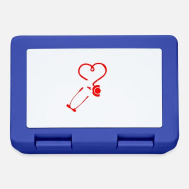 Career Doctor Stethoscope Heart Love Funny Gift Idea - Lunchbox