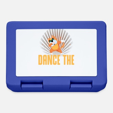 Cane Cucciolo Cane Dab Dancing Dog Husky - Lunch box