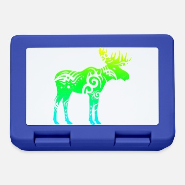 Tattoo Tribal tattoo moose gift idea - Lunchbox