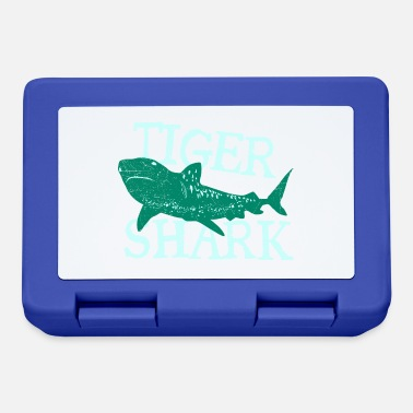 Christmas Present Fish Tiger Shark Danger Diver Gift - Lunchbox