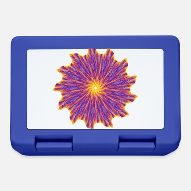 Abstract Chakra Mandala Mantra OM Chaos Star Circle 9112pla - Lunchbox