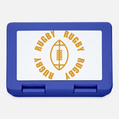 Rugby Regalo divertente del giocatore di rugby di rugby Ruggby Ruggby - Lunch box