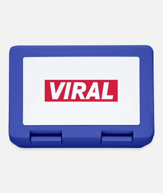 Song Lunchboxes - Viral Team - Lunchbox royal blue