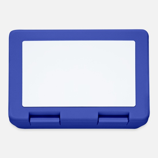 End Lunchboxes - The end - Lunchbox royal blue