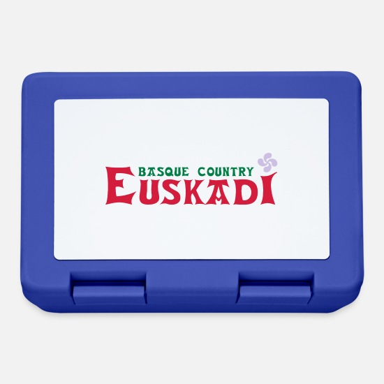 Country Lunchboxes - euskadi basque country - Lunchbox royal blue