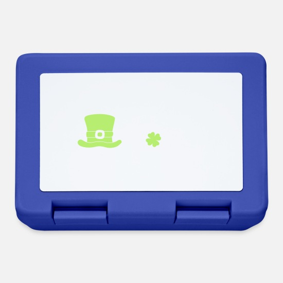 Irish Lunchboxes - St. Patricks day 2018. Irish. Biere. Ireland - Lunchbox royal blue
