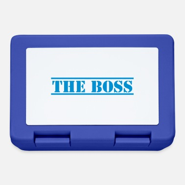 Stencil THE BOSS in stencil - Lunchbox