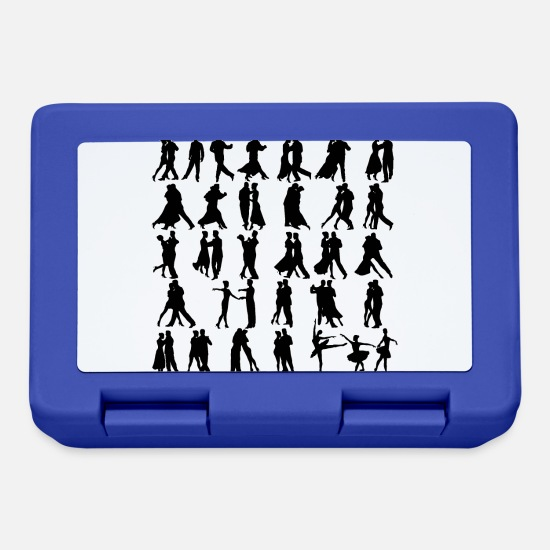 Ballroom Dance Lunchboxes - Dance - Lunchbox royal blue