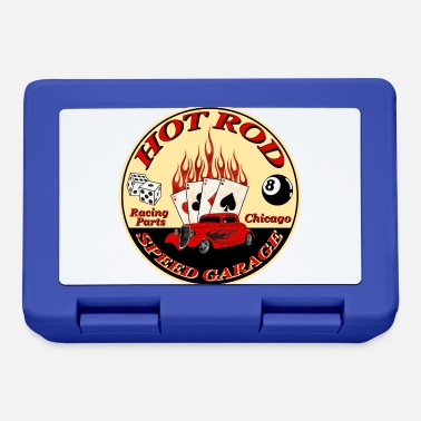 Hot hot rod flaming - Lunchbox