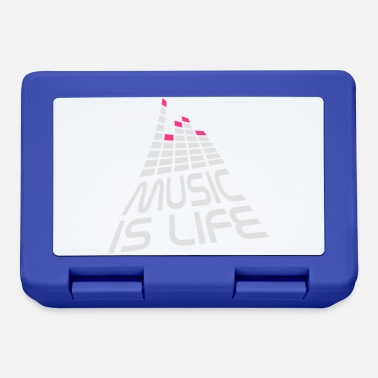 Quotes music is life 3d I EN - Lunchbox