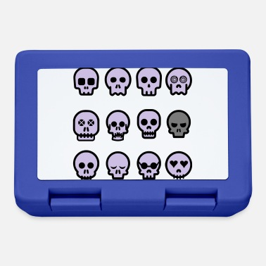 Funny Collection Funny skulls - Lunchbox