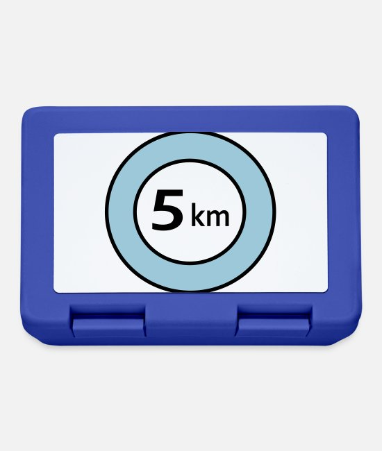 Scalable Lunchboxes - 5 km - Lunchbox royal blue
