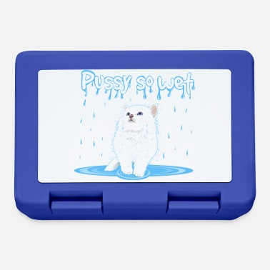 Wet WET PUSSY - WET CAT - Lunchbox