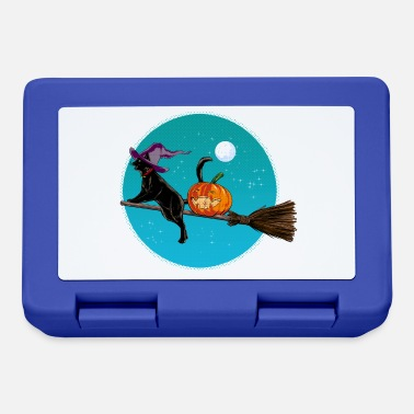 Halloween Halloween Witch Cat - Lunchbox