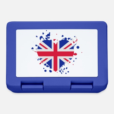 Bandera heart Fahne English flag bandera games - Lunchbox