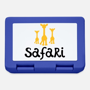 Safari safari - Lunch box