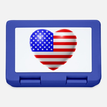 Usa Heart (USA / USA) - Lunchbox