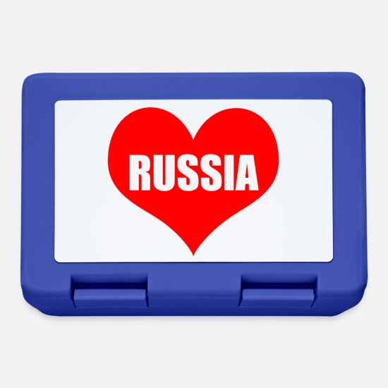 Amore Lunch boxes - russiaheart - Lunch box blu royal