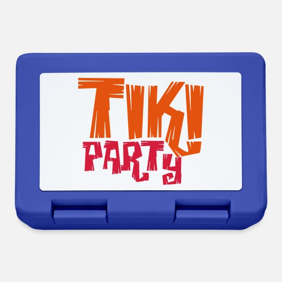 Isola Lunch boxes - TIKI PARTY! - Lunch box blu royal