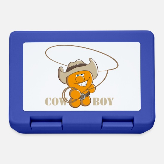 Officialbrands Lunch boxes - Gelini CowBoy - Lunch box blu royal
