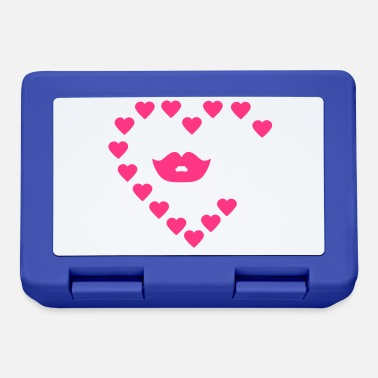 Kussmund Kussmund / kissing lips (1c) - Lunchbox
