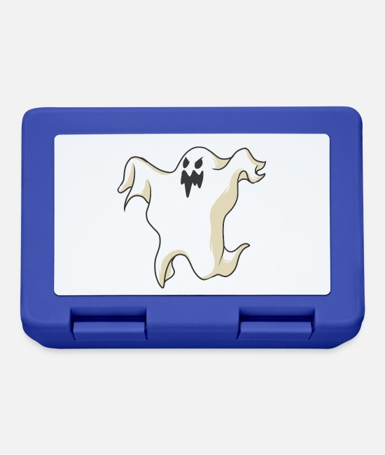 Trend Lunchboxes - Ghost | Spirit | Gift idea - Lunchbox royal blue