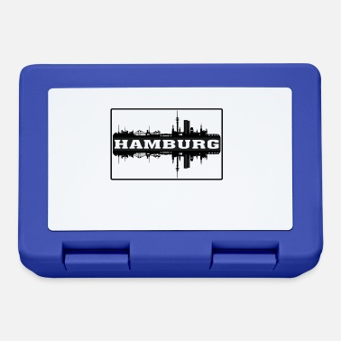 Made In Germany Hamburg Germany Travel Souvenir Skyline Silhouette - Lunchbox