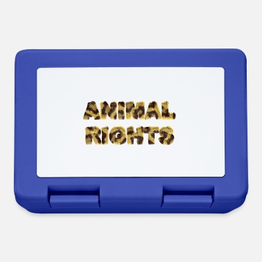 Animal Rights ANIMAL RIGHTS - Lunchbox
