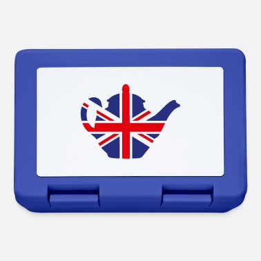 Brexit British United Kingdom teapot Union Jack UK - Lunchbox