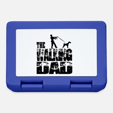 Tv THE WALKING DAD #Zombie with terrier - Lunchbox