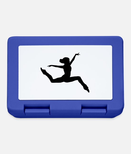 Ballerina Lunchboxes - Dancer, dancing - Lunchbox royal blue