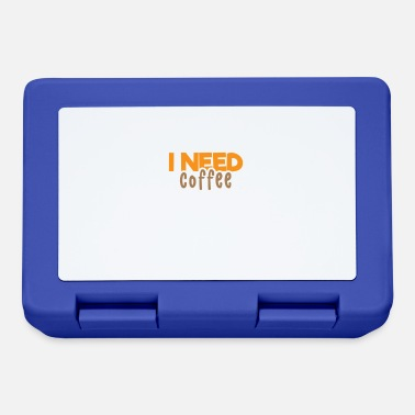 Coffee Funny Coffee Quotes I Don't Need Any More - Lunchbox