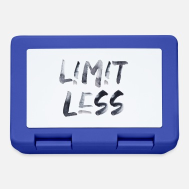 Limitless Limit less Spruch Schrift Text ohne Limit - Brotdose