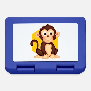 Little Monkey little monkey - funny monkey - design - Lunchbox