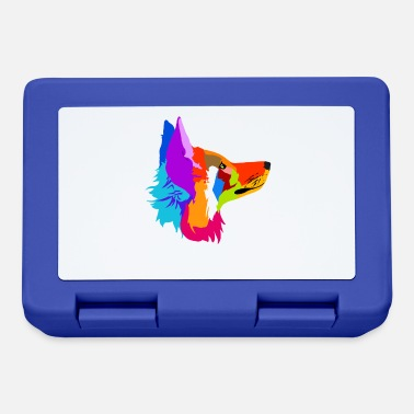 Couch Colorful fox gift for fox friends & foxes - Lunchbox