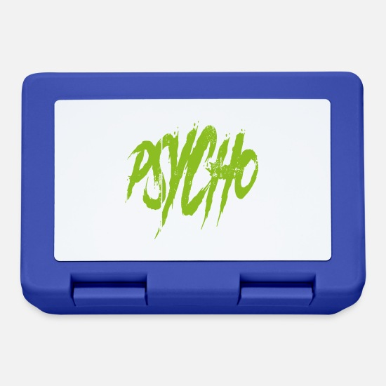 Bass Lunchboxes - Psycho - Lunchbox royal blue