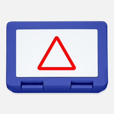Kyltti Triangle Warning Sign - Lunchbox