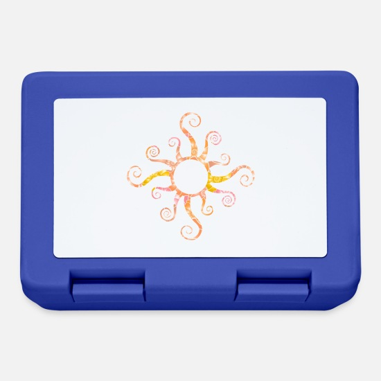 Sun Lunchboxes - Sun - Lunchbox royal blue