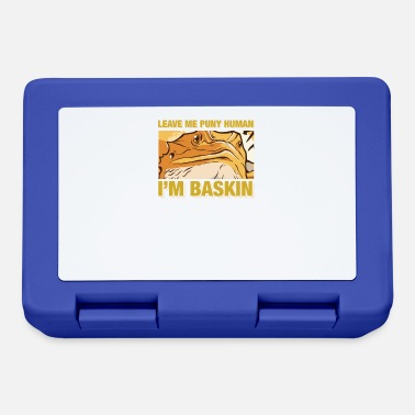 Bearded Dragon Lizard Lover Dragon Breeding Gift - Lunchbox