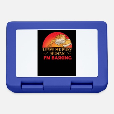 Funny Bearded Dragon Dragon Lover Lizard Pet - Lunchbox
