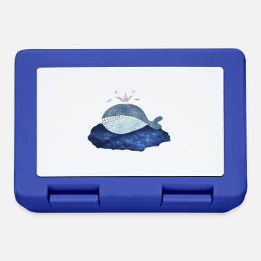 Crittercontest Blue whale design / print - Lunchbox