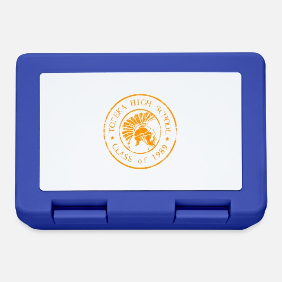 Trojan Lunchboxes - Topeka High School merch - Lunchbox royal blue