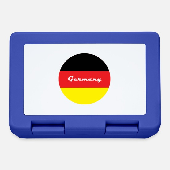 Germania Lunch boxes - Germania campione del mondo - Lunch box blu royal
