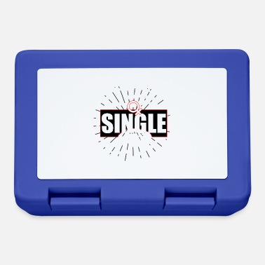 Single Single single bachelor love love single single - Lunch box
