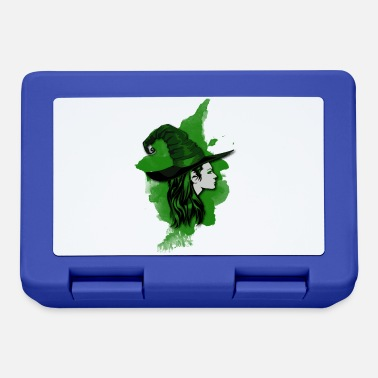 Night Of The Witches Witch green - Lunchbox